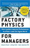 factory physics - post lean sigma world